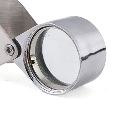 Pocket Watchmaker's Magnifying Glass. 10 Magnifications.