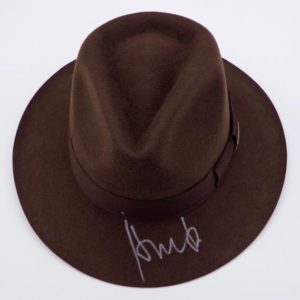 Sombrero De Indiana Jones Firmado.