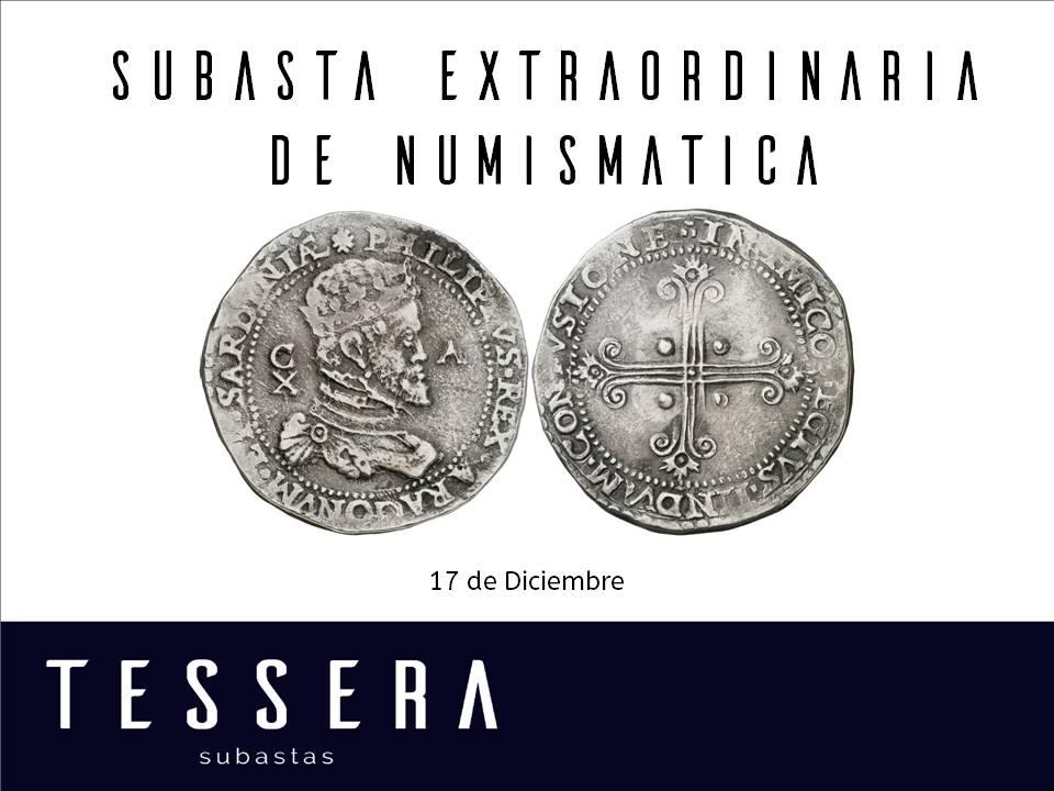 Subasta Extraordinaria De Numismática