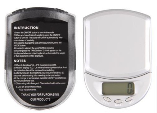 Digital Pocket Scale For Jewellery 500g/1g