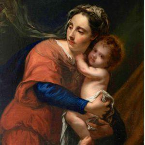 Jacob Van Oost, 1603-1671. Virgen Con Niño