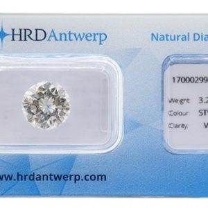 Diamante De 3,28 Ct., J-VS1