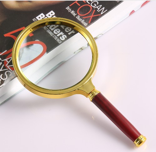 Hand-held Magnifier For Reading And Jewelry